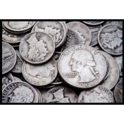 Monedas de plata Ag a peso + 5%