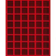 Bandeja Interior Vitrinas ( teciopelo ) Capacidad 48 Placas