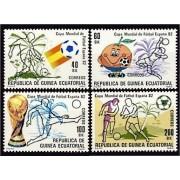 Guinea Ecuatorial 35/38 1982 - Mundial 82
