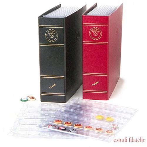 Filober Álbum placas chapas cava 12 hojas ( con refuerzo ) capacidad 432 chapas