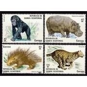 Guinea Ecuatorial 39/42m1983 - Fauna