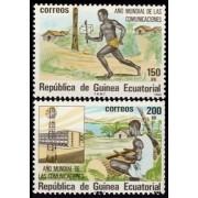 Guinea Ecuatorial 45/46 1983 - Año Mundial de las Comunicaciones