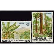 Guinea Ecuatorial 47/48 1983 - Flora