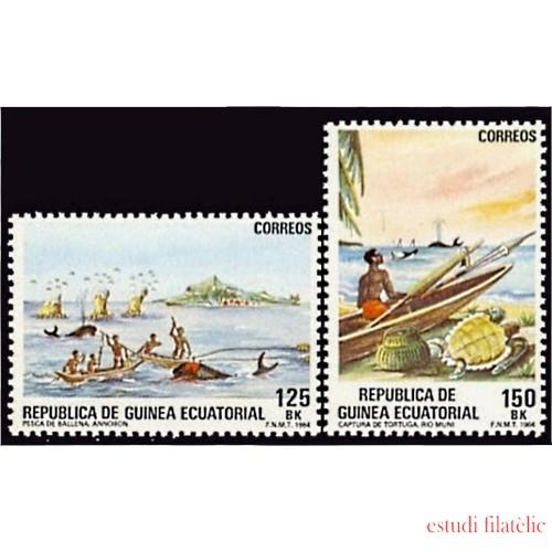 Guinea Ecuatorial 53/54 1984 - Pesca