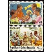 Guinea Ecuatorial 71/72 1985 - Navidad 85