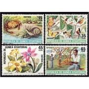 Guinea Ecuatorial 73/76 1985 - Protección de la  Naturaleza