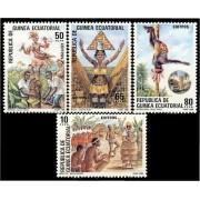 Guinea Ecuatorial 77/80 1986 - Folklore