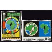 Guinea Ecuatorial 85/86 1986 - Unión de los Estados del Africa Central