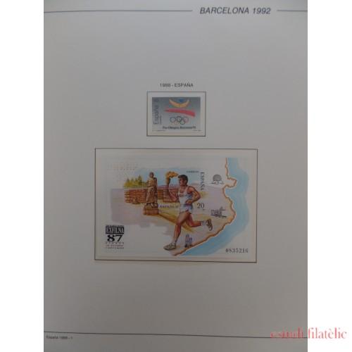 Colección Collection Olimpiada Barcelona 92 Olympic games Completa