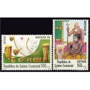 Guinea Ecuatorial 87/88 1986 - Navidad 86