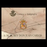 España Spain Prueba de lujo 64A/D 3544C 1998 Matasellado Carnet Rey 98