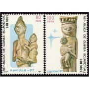 Guinea Ecuatorial 96/97 1987 - Navidad 87