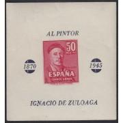 España 1016 1947 Zuloaga prueba