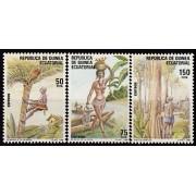 Guinea Ecuatorial 104/06 1988 - Día Internacional del Trabajo