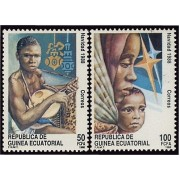 Guinea Ecuatorial 107/08 1988 - Navidad 88