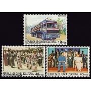 Guinea Ecuatorial 109/11 1988 - 20º Aniv. de la Independencia