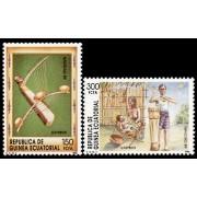 Guinea Ecuatorial 118/19 1989 - Navidad 89