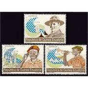 Guinea Ecuatorial 120/22 1990 - Boy Scouts