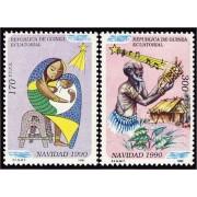 Guinea Ecuatorial 131/32  1990 - Navidad 90