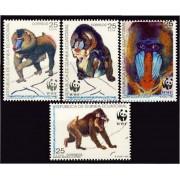 Guinea Ecuatorial 139/42 1991 - W.W.F.