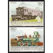 Guinea Ecuatorial 146/47 1991 - Ferrocarriles