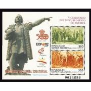 Guinea Ecuatorial 152 1992 -V Centenario HB