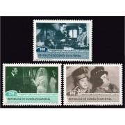 Guinea Ecuatorial 153/55 1992 - Homenaje al Cine