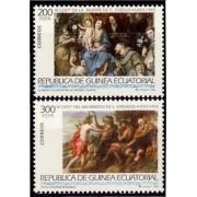 Guinea Ecuatorial 162/63 1993 -  Grandes Maestros de la Pintura