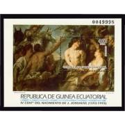 Guinea Ecuatorial 164 1993 -  Grandes Maestros de la Pintura HB