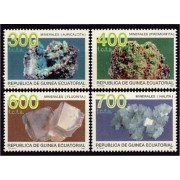 Guinea Ecuatorial 178/81 1994 - Minerales