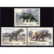 Guinea Ecuatorial 182/84 1994 - Fauna Prehistórica