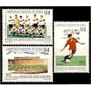 Guinea Ecuatorial 186/88 1994 - Fútbol Mundial 94