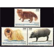 Guinea Ecuatorial 196/98 1995 - Animales
