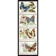 Guinea Ecuatorial 199/02 1995 - Mariposas