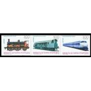 Guinea Ecuatorial 206/08 1995 - Ferrocarriles