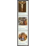 Guinea Ecuatorial 252/54 1999 Bimilenario del Nacimiento Jesús