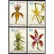 Guinea Ecuatorial 255/58 1999  Orquídeas