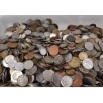 Lote 10 Kg Monedas Mundiales Variadas