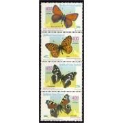 Guinea Ecuatorial 267/70 2000  Mariposas
