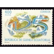 Guinea Ecuatorial 275 2001 - 125º Aniv. de la Unión Postal Universal
