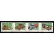 Guinea Ecuatorial 280/83 2001 - Vehículos de bomberos