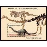 Guinea Ecuatorial 287 2002 - Fauna prehistórica HB