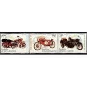 Guinea Ecuatorial 326/28 2004 - Motocicletas