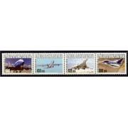 Guinea Ecuatorial 345/48 2005 - Aviación