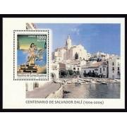 Guinea Ecuatorial 356 2005 - Centº del Nacimiento de Salvador Dalí  HB