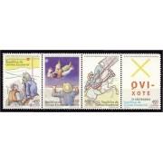Guinea Ecuatorial 364/67 2005 - IV Centº del Quijote