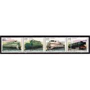 Guinea Ecuatorial 388/91 2007 - Trenes