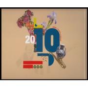 Libro Album Oficial de Sellos España y Andorra Año Completo 2010
