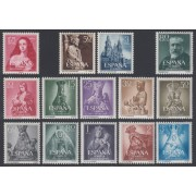 España Spain Año Completo Year Complete 1954  MH Stamps