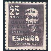 España Spain 1090 1951 Viaje del Caudillo a Canarias MH